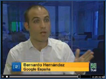 Bernardo Hernandez, Google España